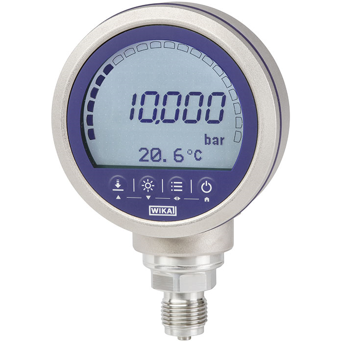 Precision Pressure Gauges : Precision digital pressure gauge cpg wika benelux