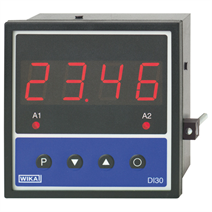 Digital indicator for panel mounting